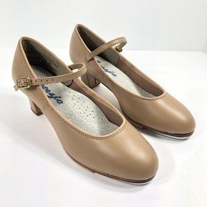 Capezio 561 Character Tap Shoes Jr. Footlight NWOB